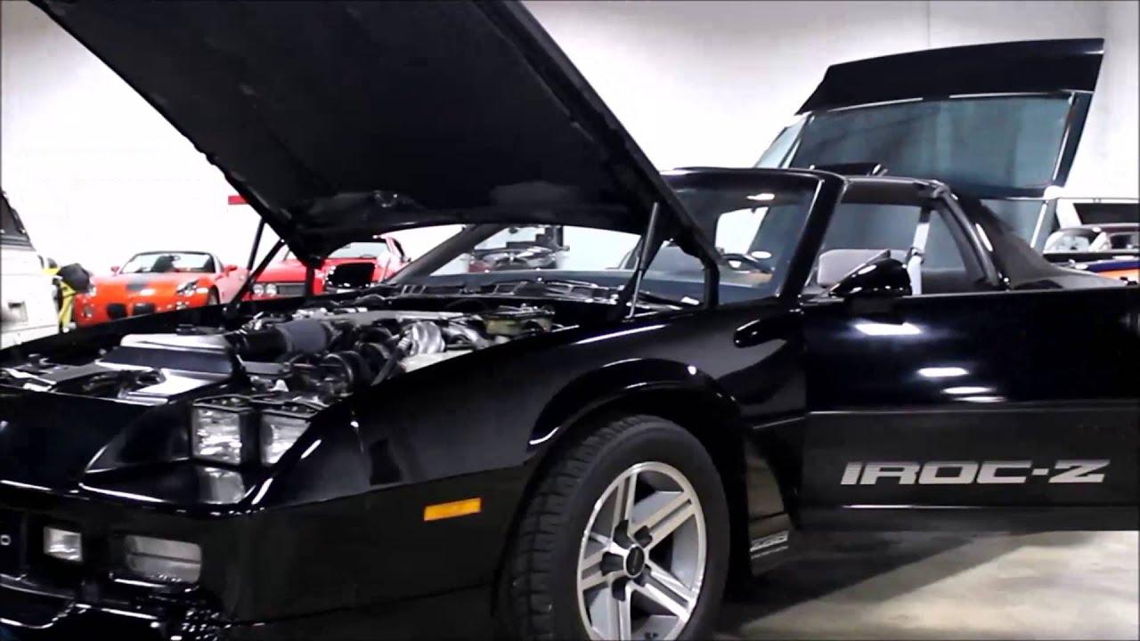 1986 Chevrolet Camaro Iroc Z 28 Youtube