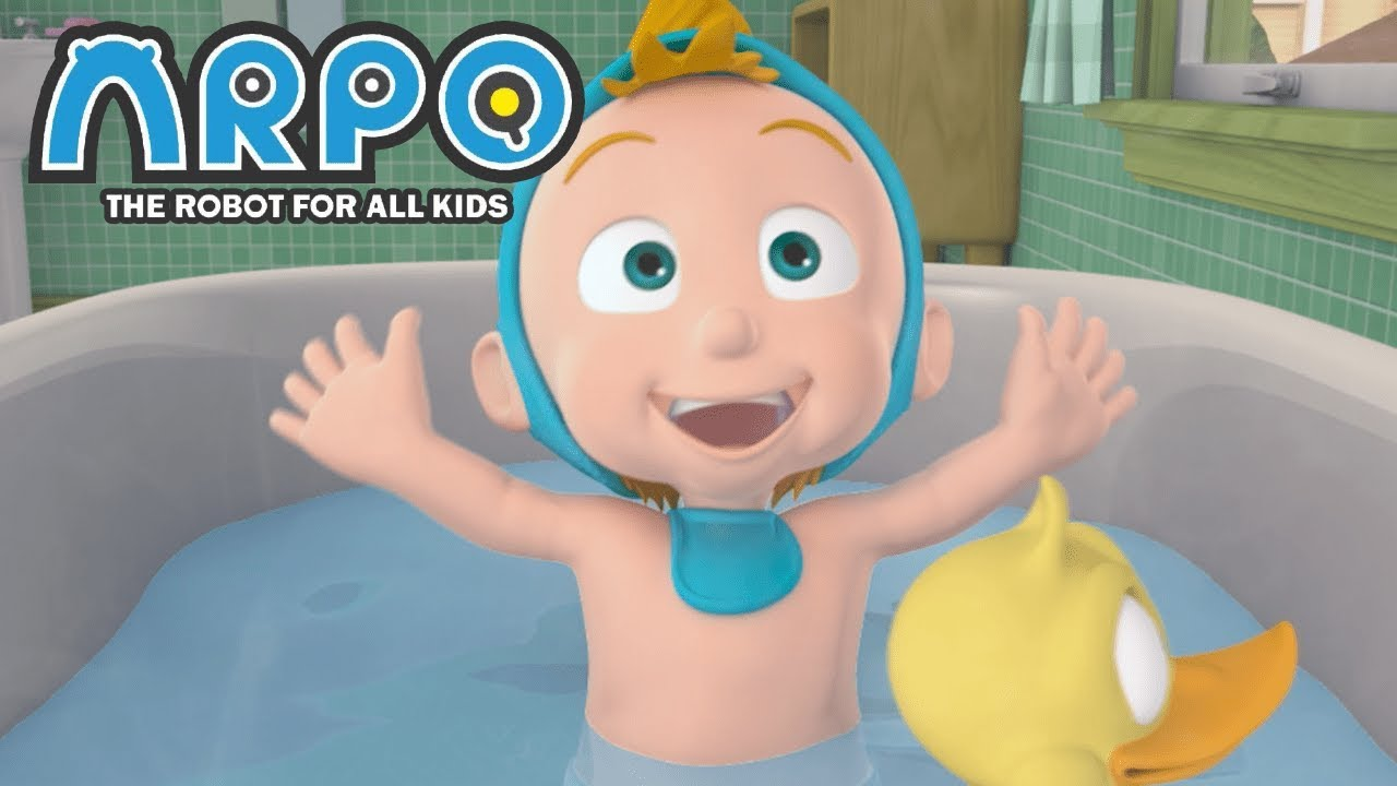 ARPO The Robot For All Kids - Bath time Blues | Full Episode | Videos For Kids Videos For Kids