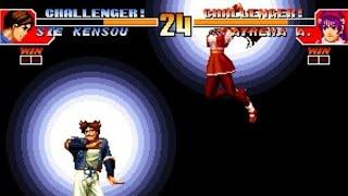 [TAS] Athena VS Kensou (KoF '97)