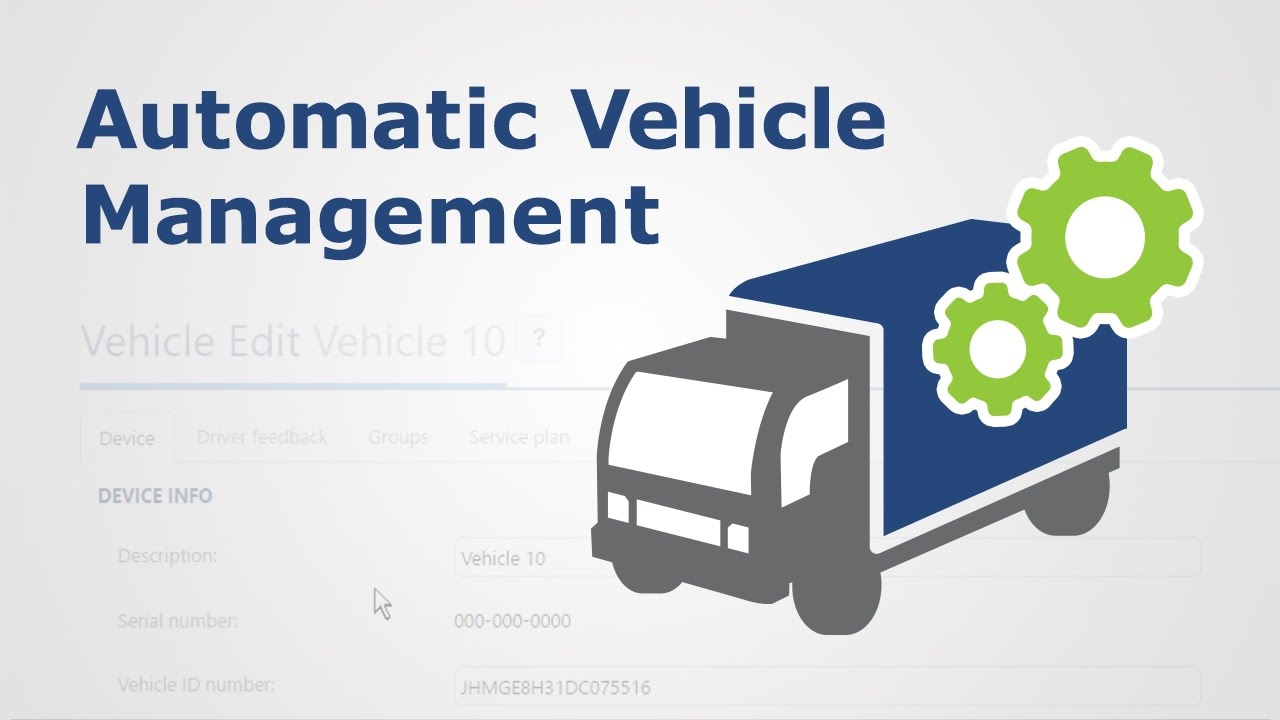 How to Enable Automatic Vehicle Management in MyGeotab | Fleet Management
