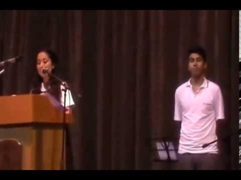 Discurso Graduación 4º B (Becker) Colegio San Adrian Quilicura, 2013