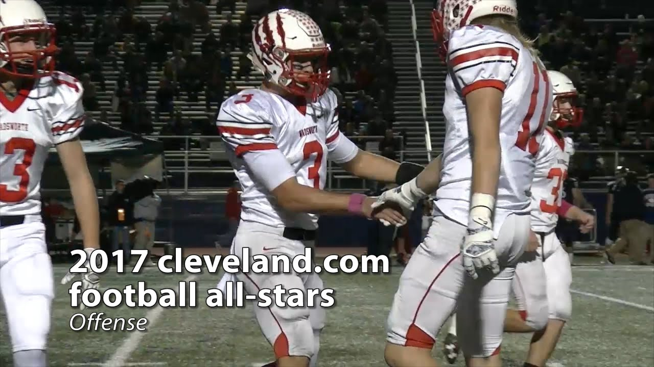 Cleveland high school football cleveland presenting clevelands 2017 all star football team on offense fandeluxe Gallery