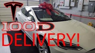 Tesla Model S 100D Delivery!! My New Tesla!