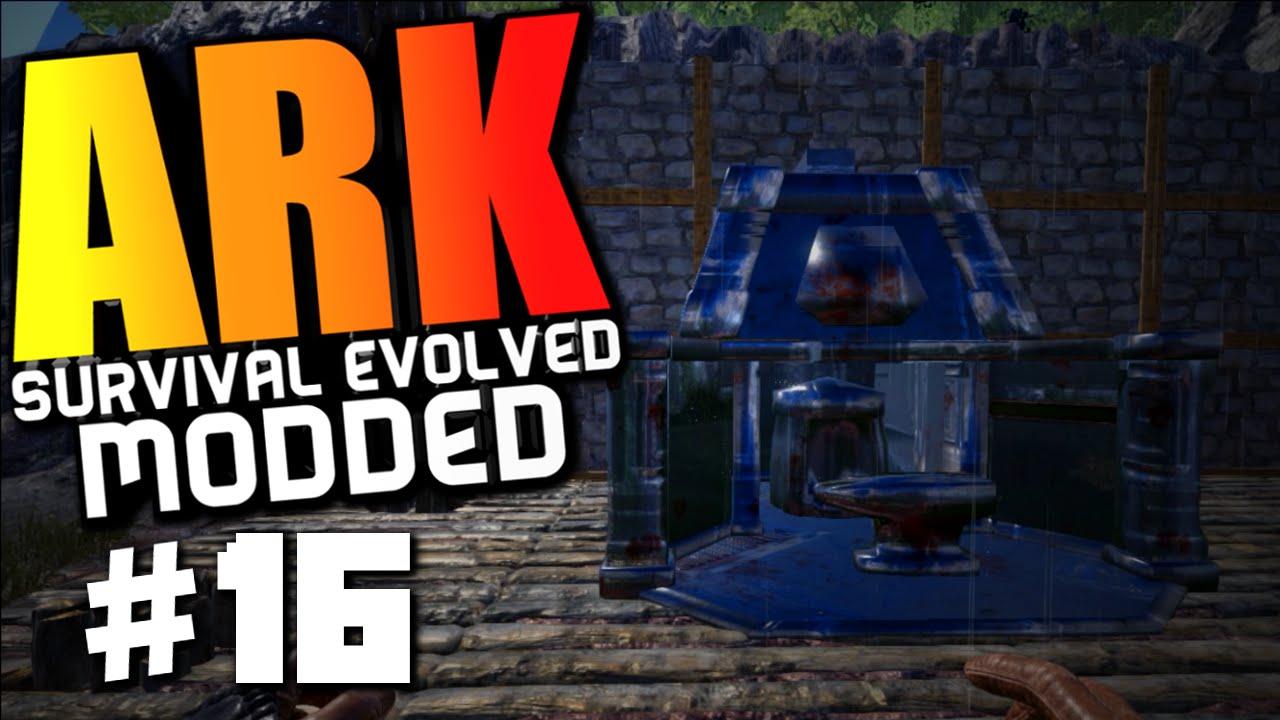 ark survival evolved industrial forge power leveling modded survival 16 ark gameplay. Black Bedroom Furniture Sets. Home Design Ideas
