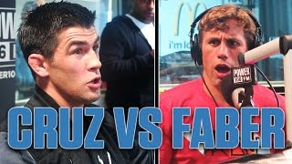 UFC 199 Dominick Cruz + Urijah Faber S**t Talk Face To Face On Air