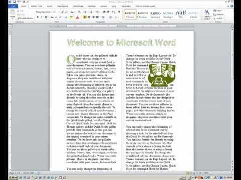 Advanced Word: Tools for Desktop Publishing