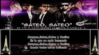 Gateo, Sateo (Llevo Tras De Ti )- LETRA - Daddy Yankee ft Plan B [Prestige]★Reggaeton 2012★