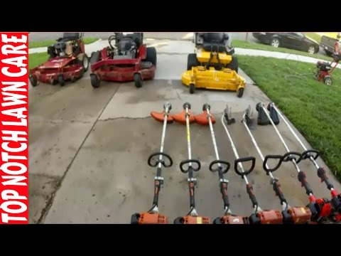 Lawn Care Equipment Setup 2016