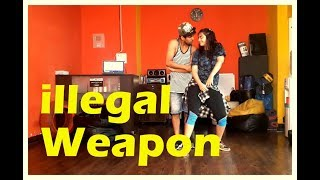 ILLEGAL WEAPON | JASMINE SANDLAS feat GARRY SANDHU | Vicky and Aakanksha