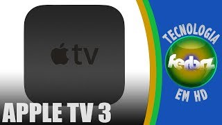 BRASIL: APPLE TV 3 【HD】