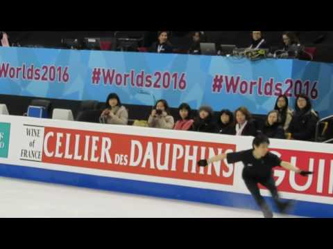Boston World Yuzuru practice FS