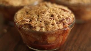 Vegan Apple Crisp Recipe - Vegan Apple Pie - Vegan Apple Cobbler