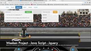Drag Race - Java Script + Jquery