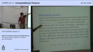 Lecture 16 - Spectral Analysis