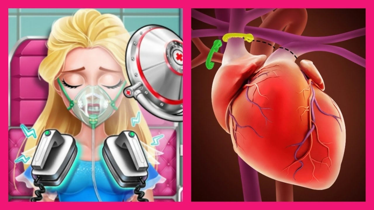 Ice Princess Heart Surgery Simulator - Doctor Game for Kids - YouTube