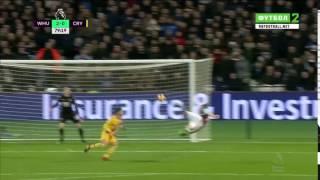 Andy Carroll bicycle kick goal vs Crystal Palace HD