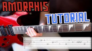 How to Play We Accursed by Amorphis (With Tabs)