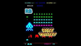 1978 [60fps] Space Invaders 23840pts