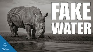 Rhino and Fake Water: PHOTOSHOP TUTORIAL #70