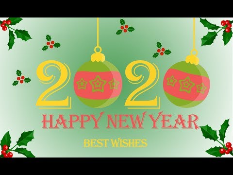 Happy New Year 2020 Wallpaper/Poster Design in Photoshop - Photoshop Tutorial thumbnail