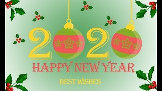 Happy New Year 2020 Wallpaper Poster Design in Photoshop Photoshop Tutorial