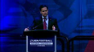2018 usa football national conference: marco rubio