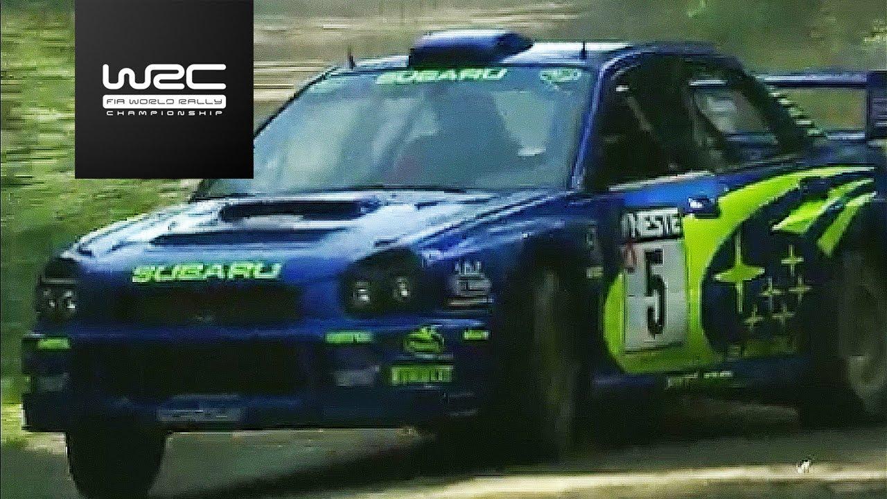 WRC History  - Neste Rally Finland 2001: Richard Burns