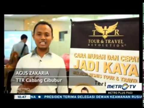 TOUR AND TRAVEL REVOLUTION on METRO TV