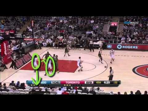 Orlando Magic Staggered Screens - screen for Ryan Anderson