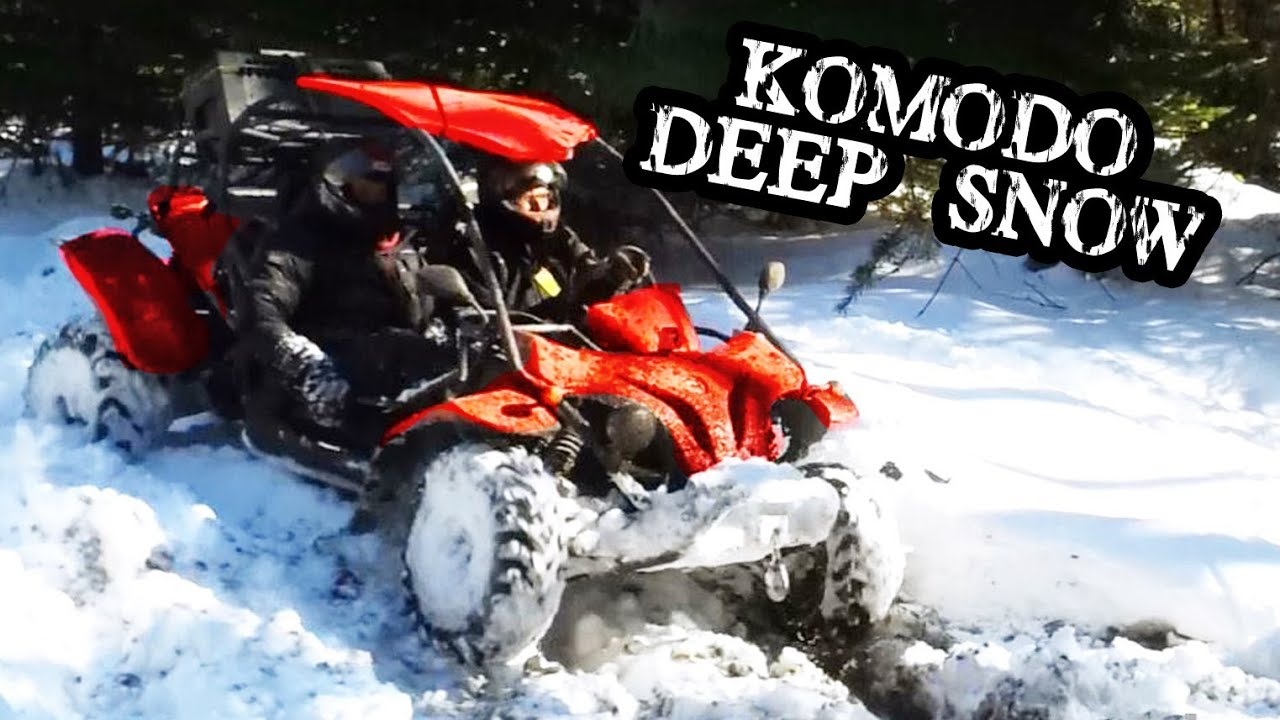 Komodo Buggy 500 4x4 Side By Side Snow Mudding Youtube