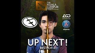 Evil Geniuses vs PSD.LGD Game 2 (BO3) The Kuala Lumpur Major