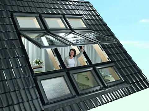 Мансардные окна от keylite, шторки для мансардных окон, чердачные лестницы и аксессуары для мансардных окон.