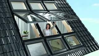Мансардные окна(Мансардные окна, различные модели мансардных окон Roto, видео, фото. Цены на мансардные окна в Киеве и Украине..., 2012-06-13T12:58:21.000Z)