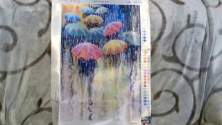 59. Вышивка. Обзор набора Тэла Артис НГ-220 Веселые зонтики