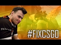 When pashaBiceps can't play - CS:GO MM HACKED! #FIXCSGO