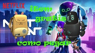 [ROBLOX ITEM FREE] like paste or Q-Bot Companion e o Mai's Backpack