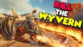 KILL THE WYVERN! - ( Ragnarok ) ARK Duo Survival Series #6