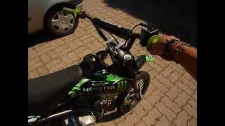 Dirt bike 140 ne monte pas dans les tours