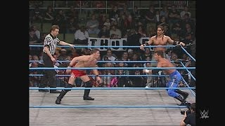 AJ Styles & Air Paris vs. Jamie Noble & Evan Karagias: WCW Thunder, Feb. 14, 2001