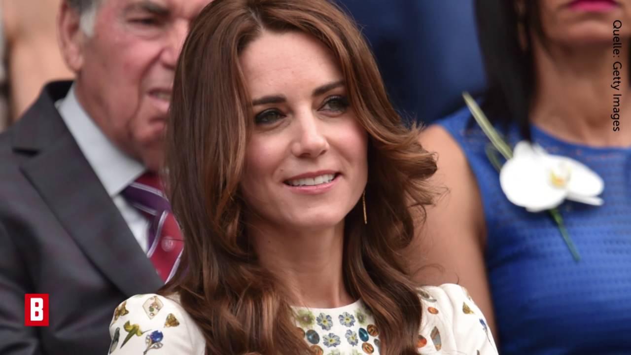 Herzogin Kate - Dieses Wimbledon-Kleid ist der schönste Talismann  - BUNTE TV