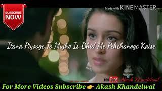 Mai Aaine Mein Apna Chehra Bhul Sakta Hoon | Aashiqui 2 Dialogue | Whatsapp Video Status
