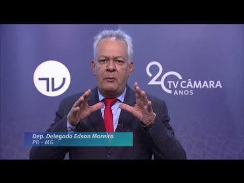 20 Anos TV Câmara: deputado Delegado Edson Moreira (PR-MG)