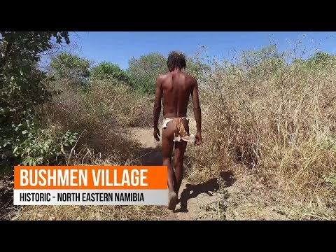 Bushmen, Historic Lifestyle - Namibia