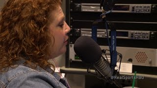 Sports reporter Julie Dicaro talks about online threats (HBO)