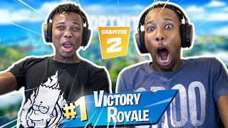 PREMIER TOP 1 SUR FORTNITE ?!! - LES PARODIE BROS