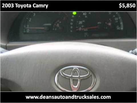 2003 toyota camry used cars slidell new orleans la youtube. Black Bedroom Furniture Sets. Home Design Ideas