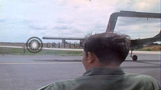 116 Task Force of United States Navy,Black Ponies aboard USMC OV-10A aircraft on ...HD Stock Footage