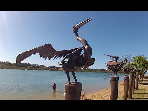 AUSTRALIA GOLD COAST RIDING MY SUZUKI DR650 (Currumbin Creek)