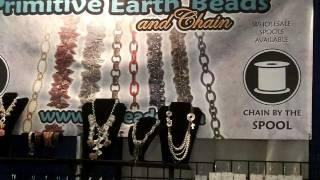 Tucson Gem Show, Primitive Earth Beads-Gem Mall