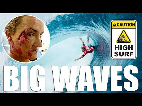 Enquête sur les vagues mangeuses d'hommes ! (BIG WAVE SURFING)